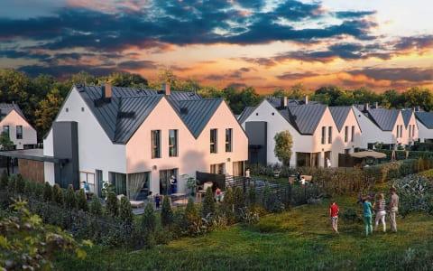 Twins Garden – Houses at Czajewskiego