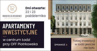 Apartamenty inwestycyjne w centrum Łodzi