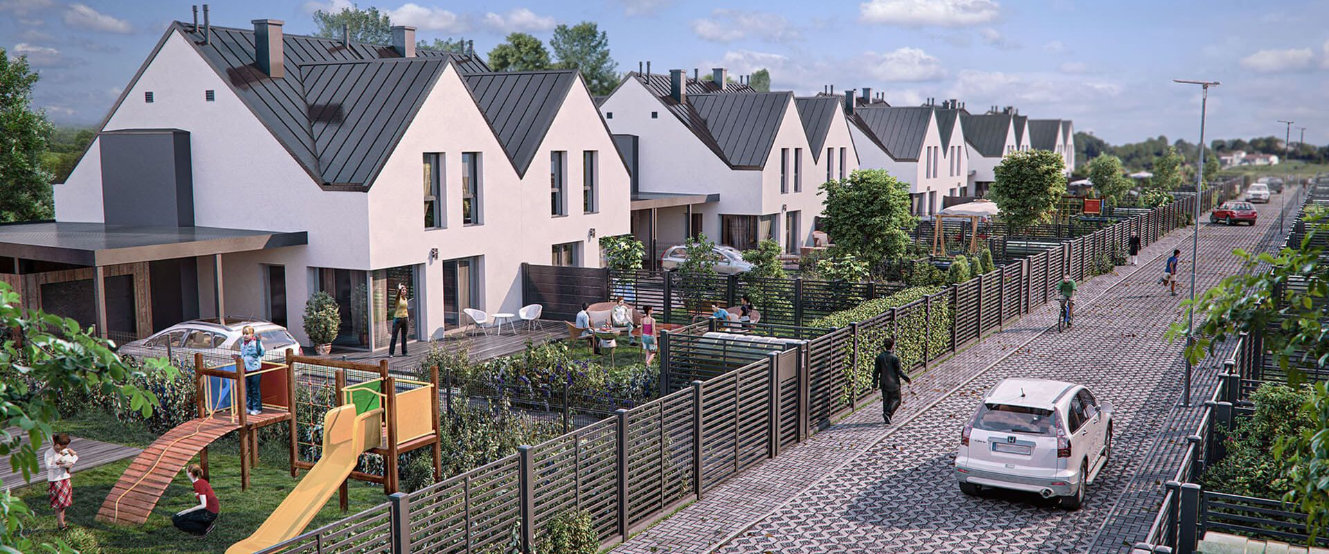 Elegant New Semi-Detached Houses